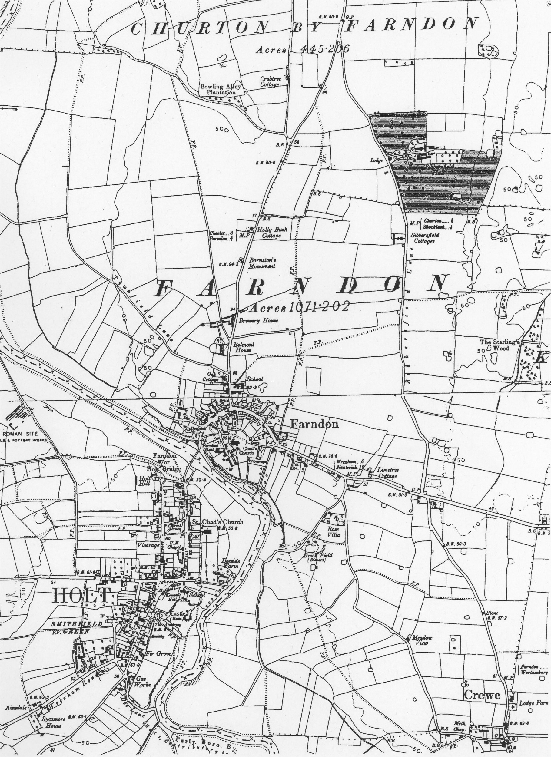 farndon parish history website